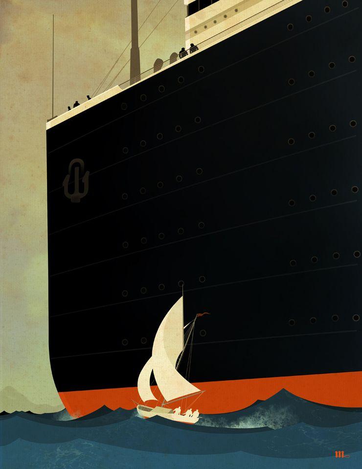 Ships (2015) by Bill Mayer