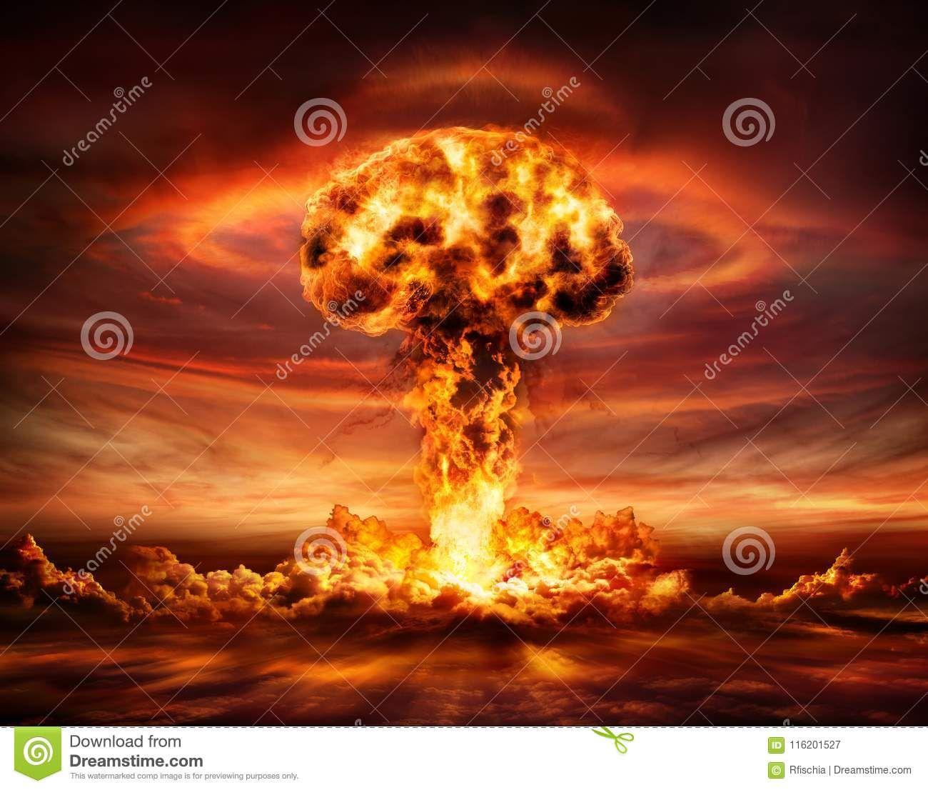 Nuclear Bomb Explosion Mushroom Cloud Mushroom Cloud Nuclear Bomb Stuffed Mushrooms