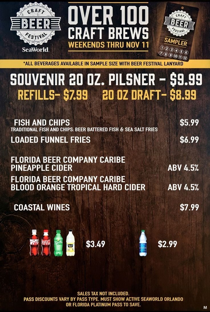 11+ Seaworld craft beer festival reviews ideas in 2021