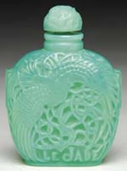 Lalique Perfume Bottle Le Jade
