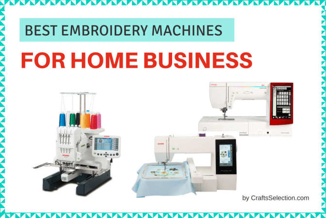 The 7 Best Embroidery Machine For Home