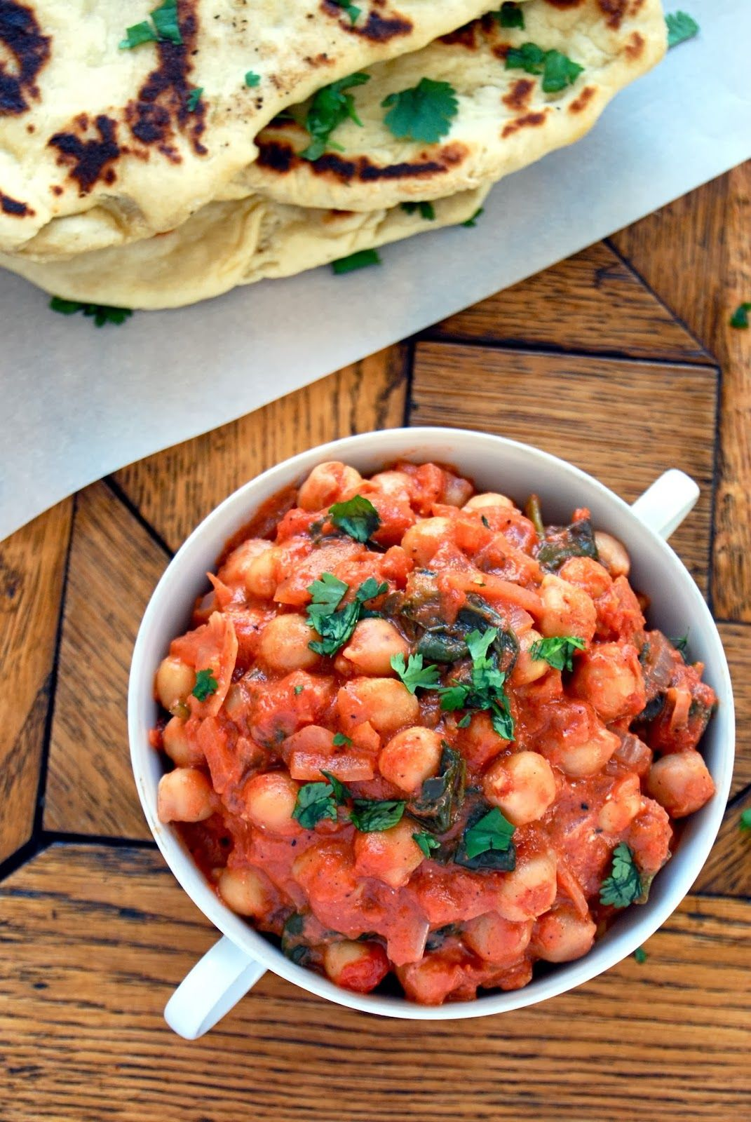 Chickpea Curry Quick, easy, healthy, and seriously