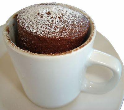 Mis Recetas Fitness Postres Fit Mug Cake De Proteina