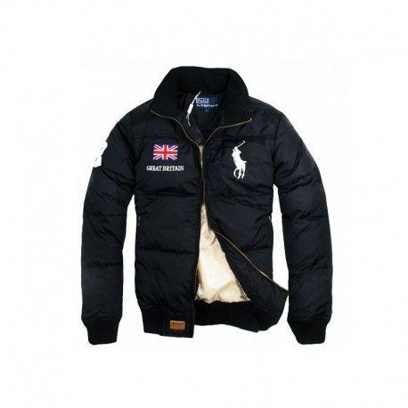 new york cb241 36fd7 Herren Winterjacke Daunen Ralph Lauren Big Pony Polo Jacke ...