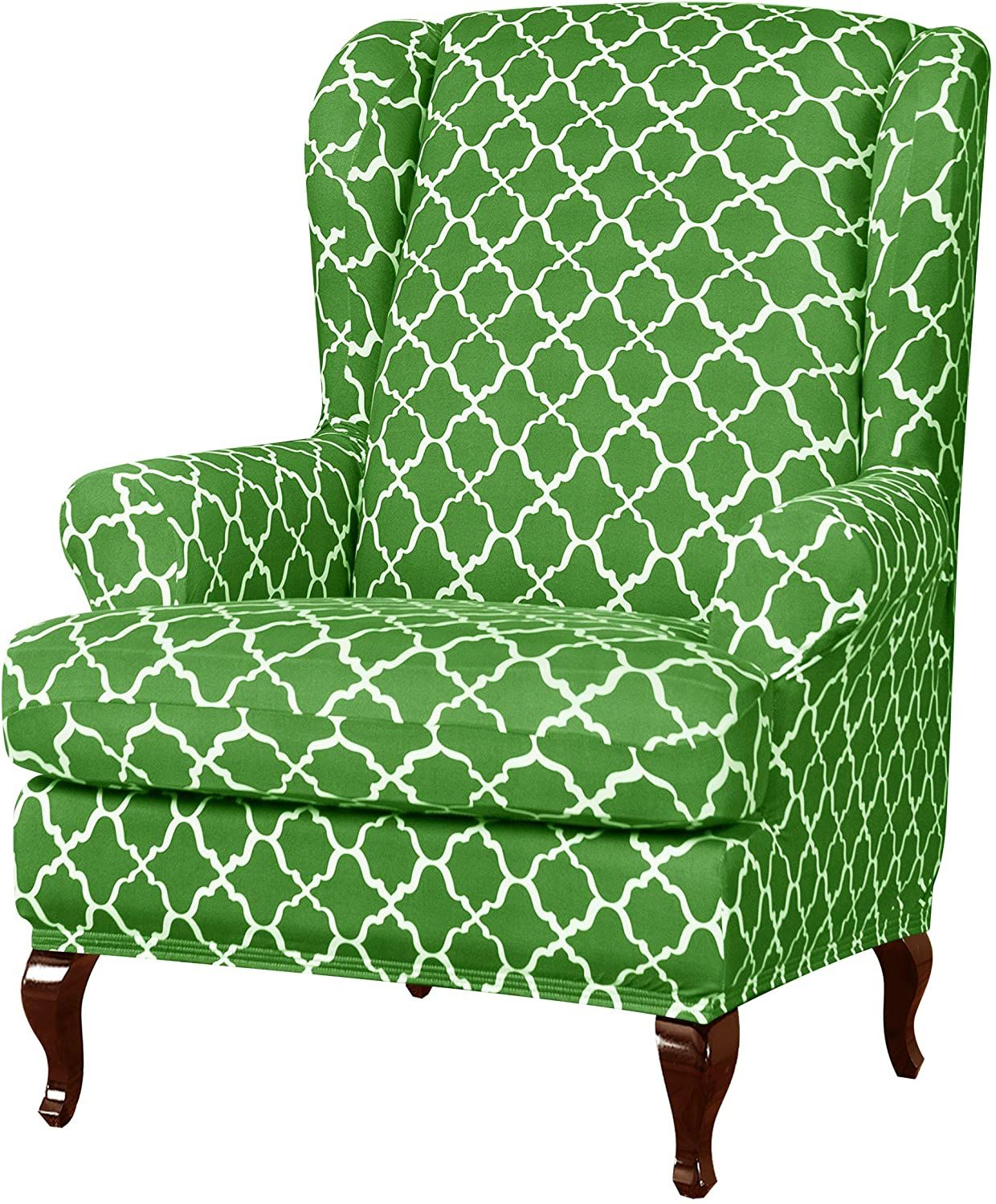 subrtex Wingback Chair Slipcover Covers for