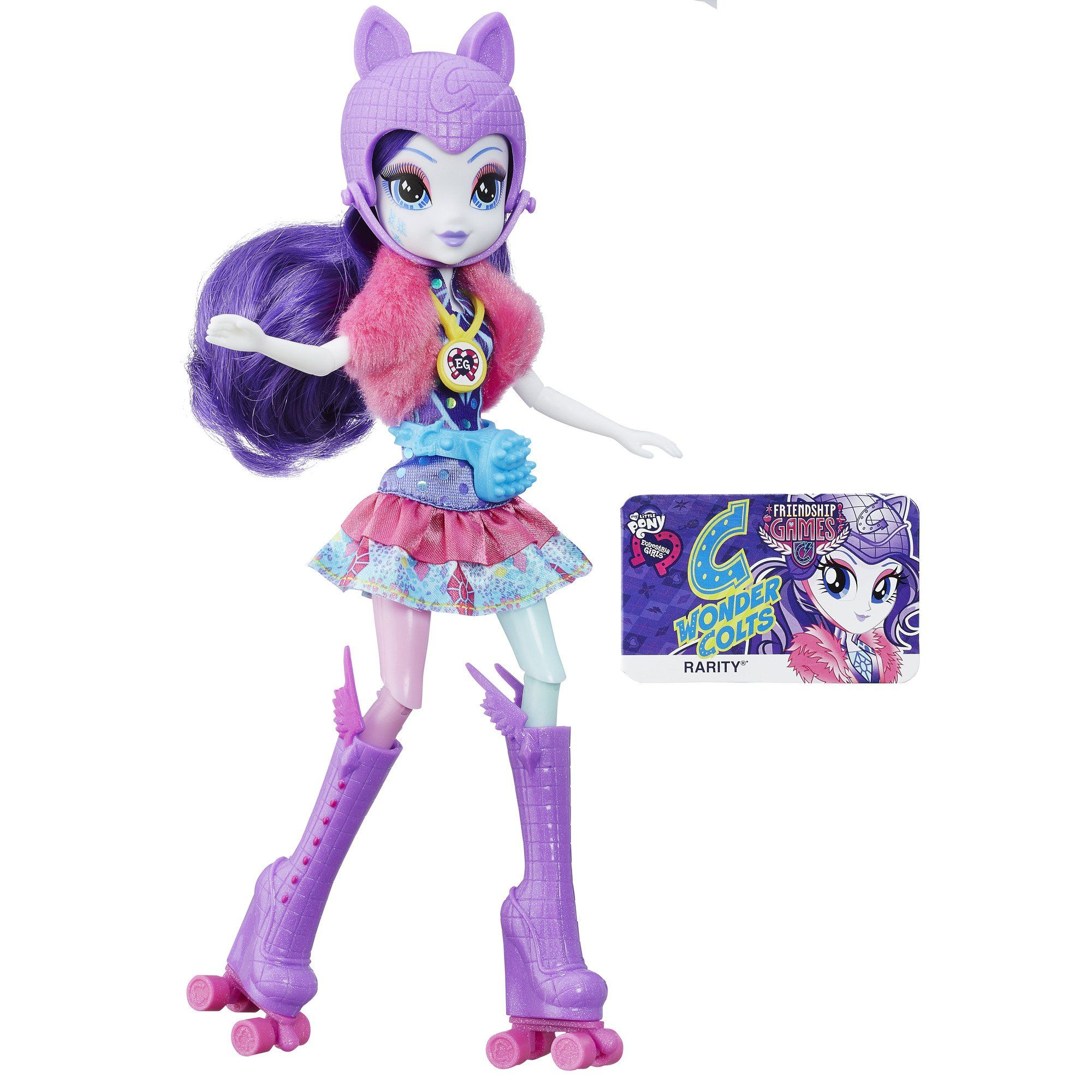 My Little Pony Equestria Girls Rarity Sporty Style Roller Skater Doll My Little Pony 39 S