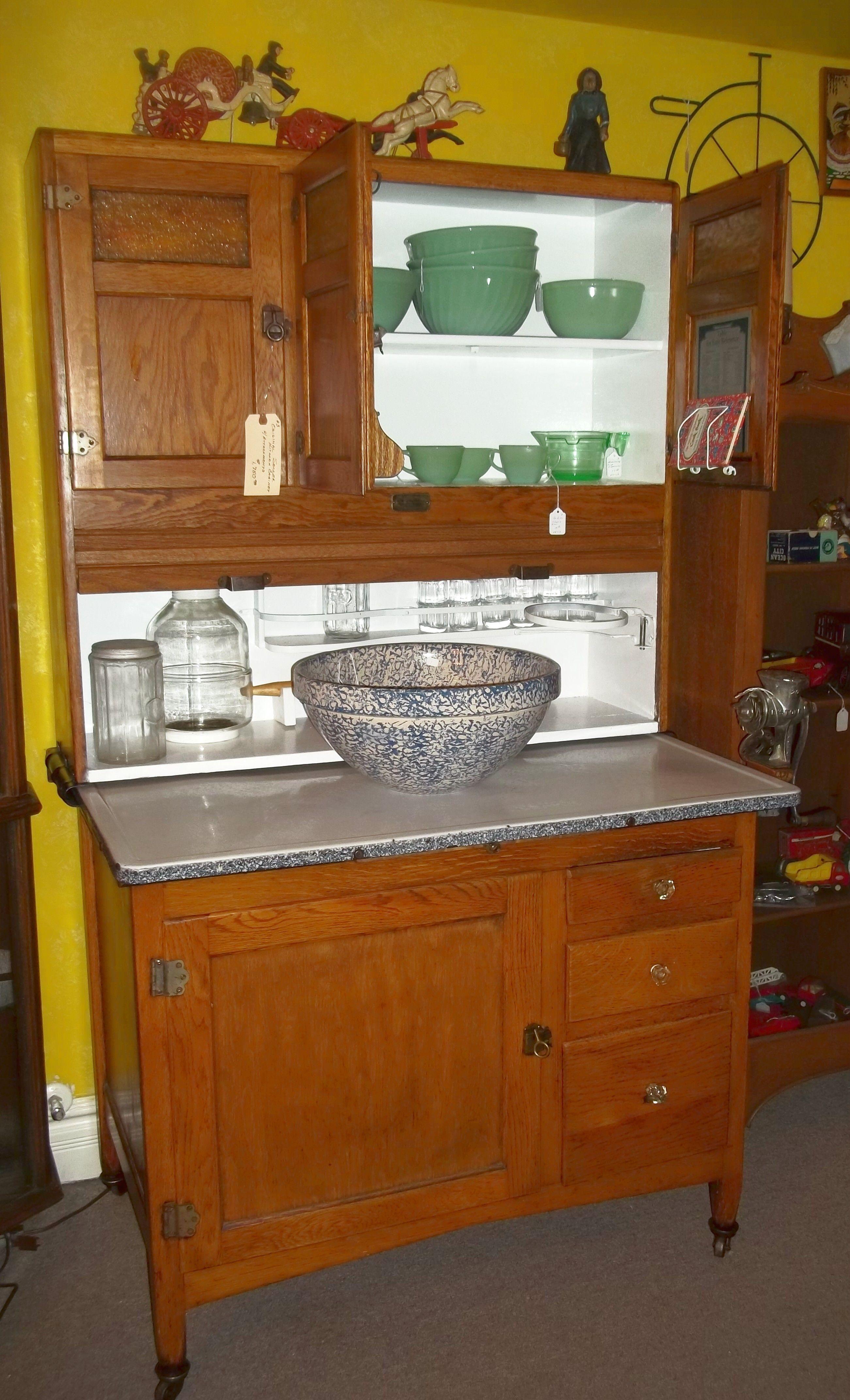 Hoosier Cabinet   Kitchen   Pinterest   Alacenas antiguas, Alacena y ...