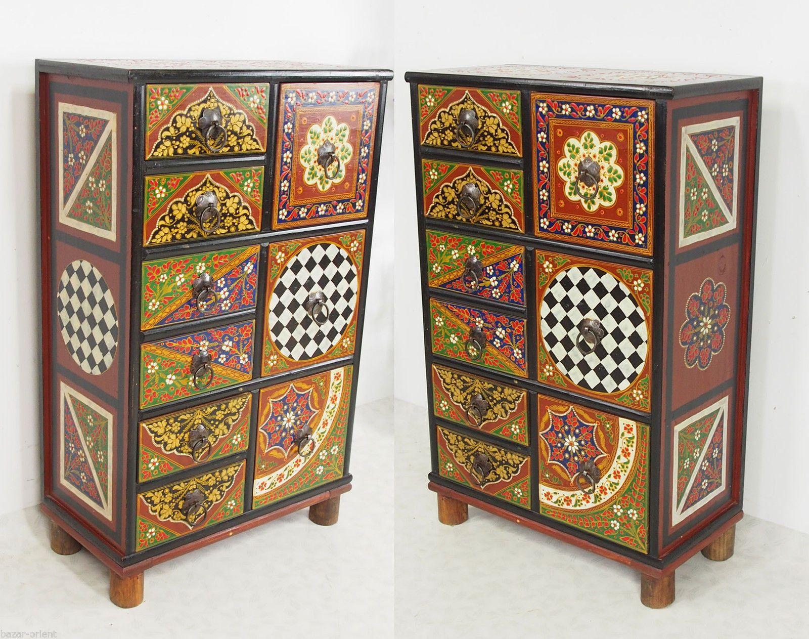 Ebay Schlafzimmerschrank ~ Antik luxuriöse orient stuhl intarsien antique india anglo
