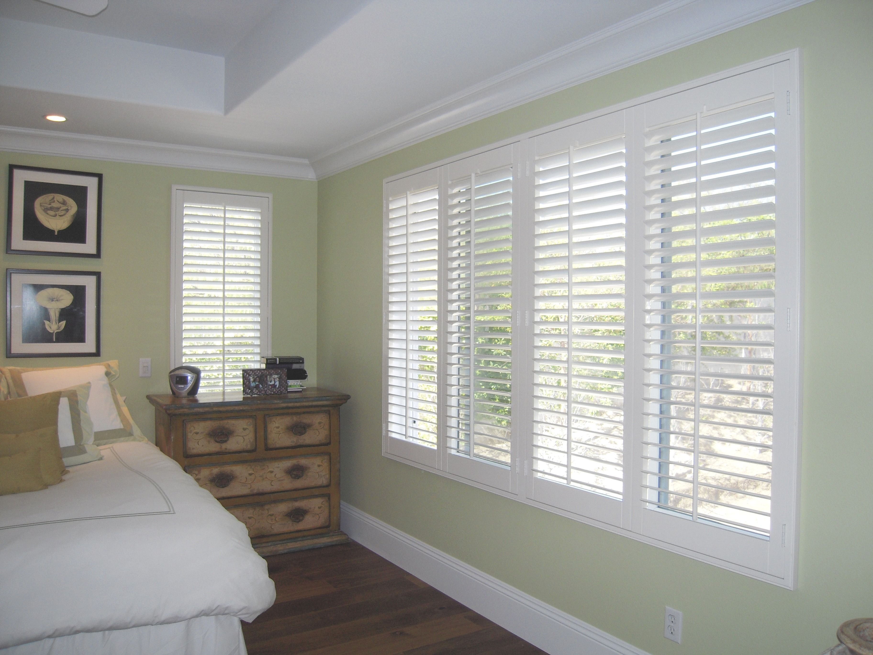 Custom wood shutters u blinds in tustin ca bedroom shutters