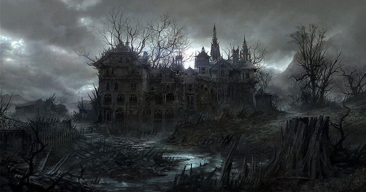 Gothic Landscape (3)