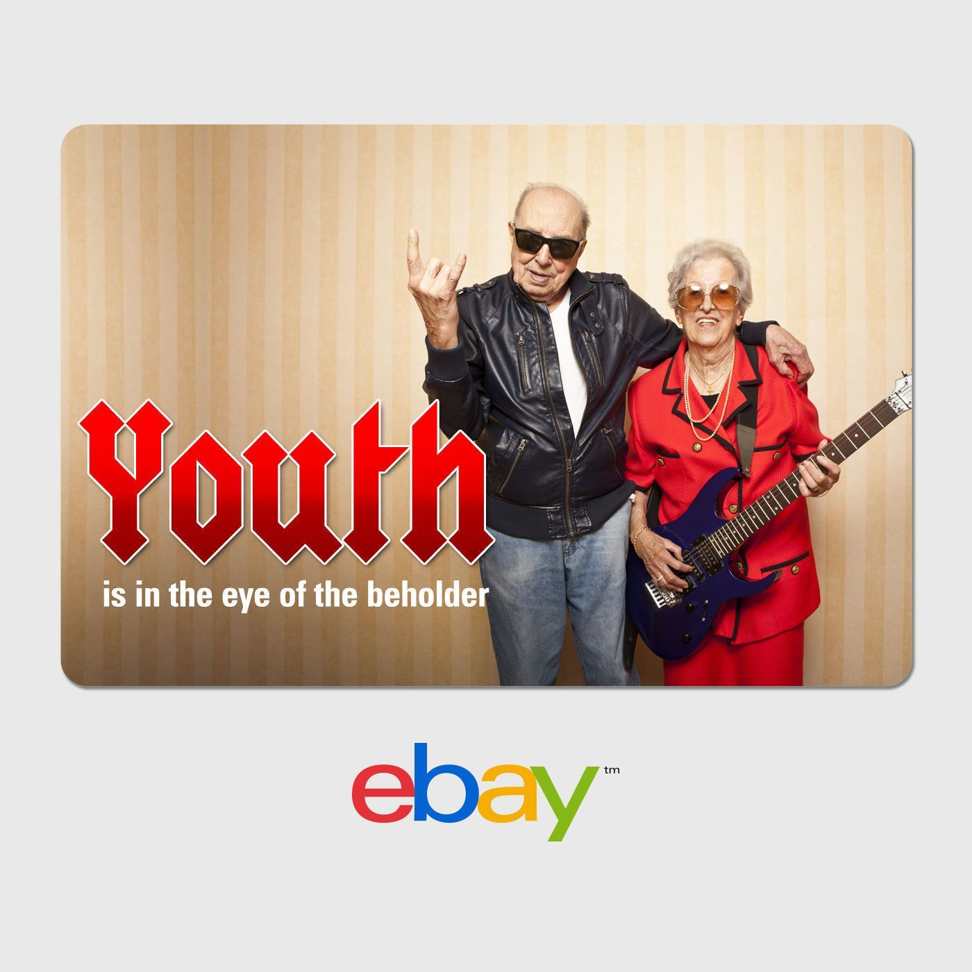Awesome EBay Digital Gift Card Happy Birthday Youth Is In
