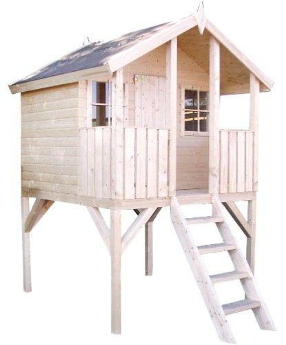 kinderhaus auf stelzen tobi home garden pinterest haus gartenhaus und spielhaus. Black Bedroom Furniture Sets. Home Design Ideas