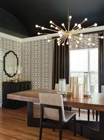mid century modern dining room light fixture | ideas for the house