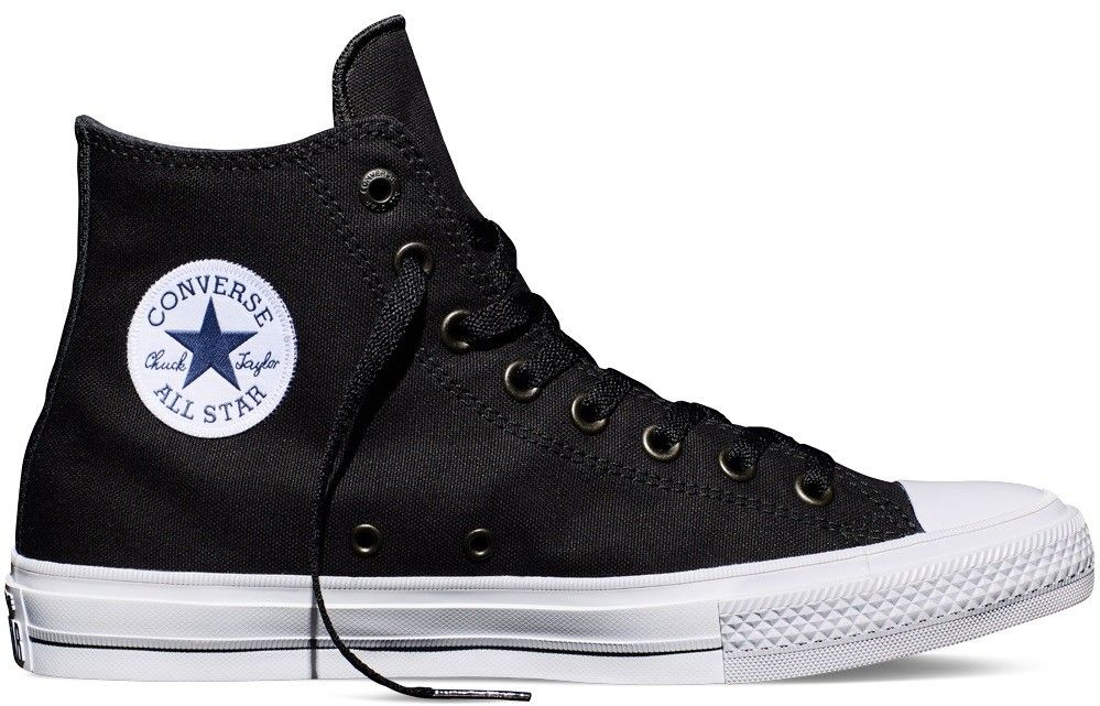 Converse Chuck Taylor All Star II Hi - Premium Canvas for high quality  touch and texture