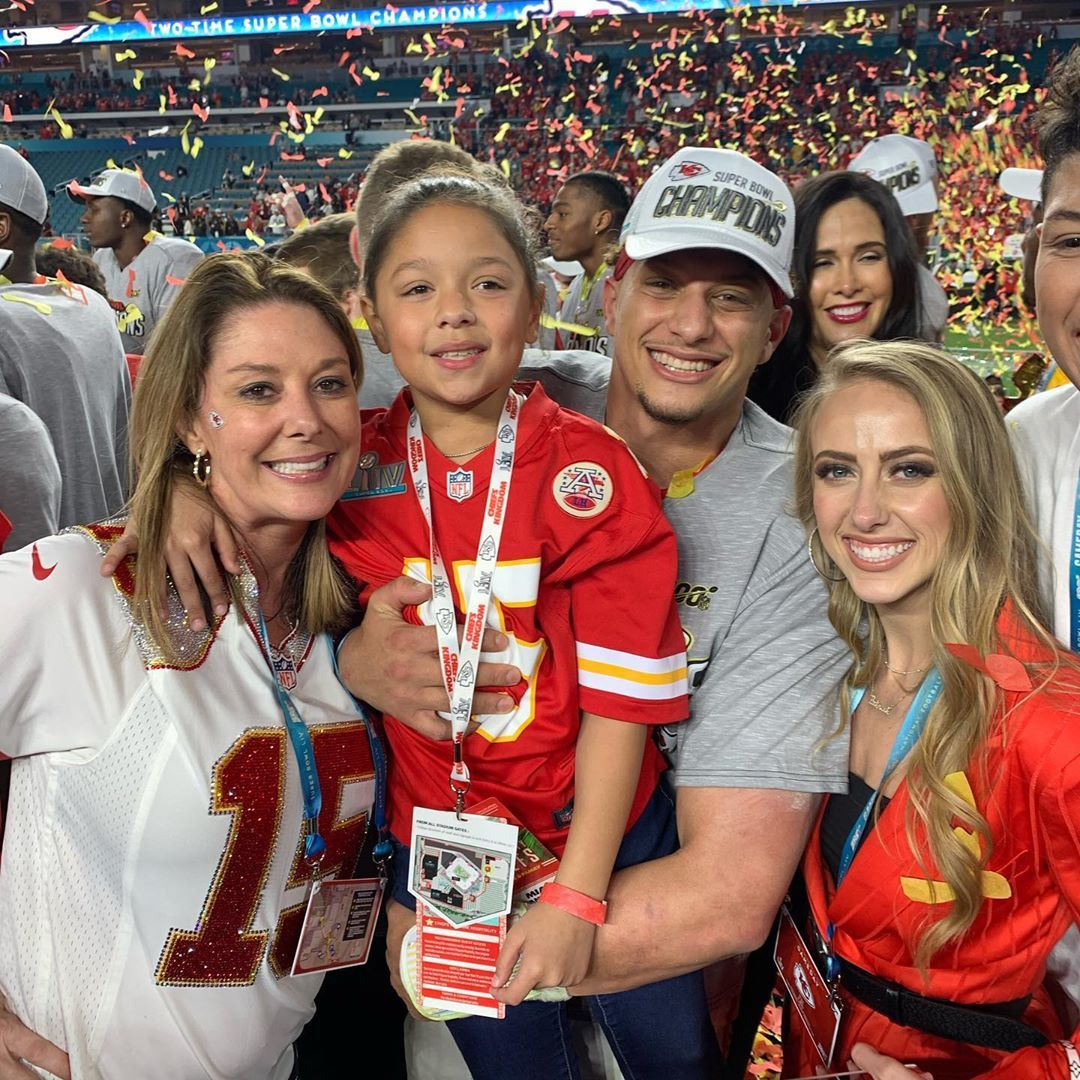 Randi Mahomes On Instagram We Won Omg In 2020 Kansas Chiefs Kansas City Chiefs Football Kansas City Nfl