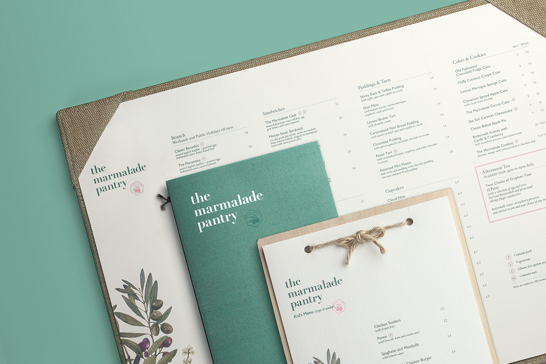 The Marmalade Pantry Mindsparkle Mag Menu Design Inspiration Restaurant Menu Design Branding Design
