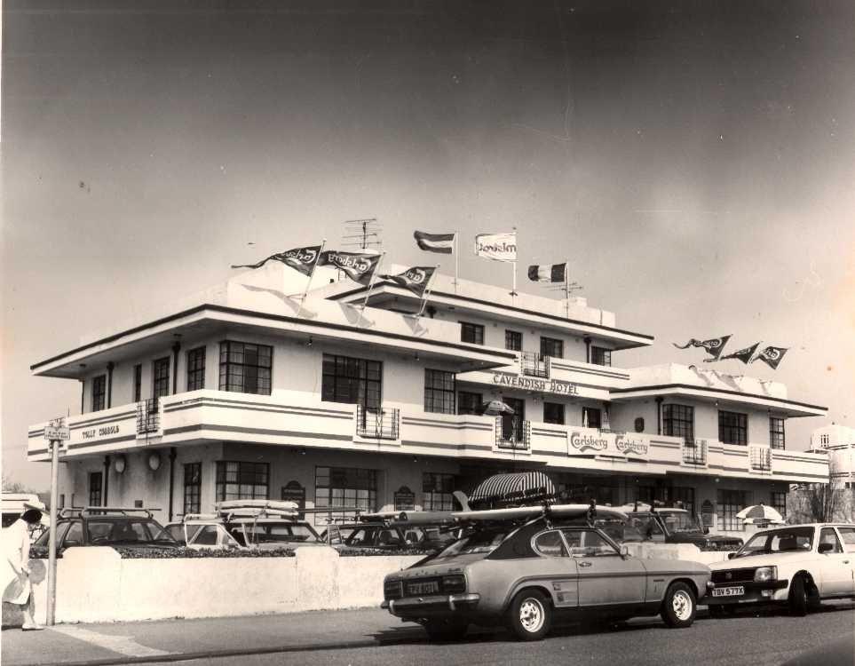 The Cavendish Hotel Now Demolished