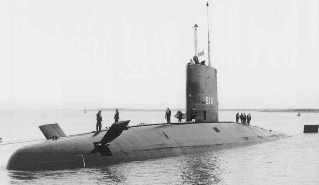 Outside Of The World War 2 Submarines