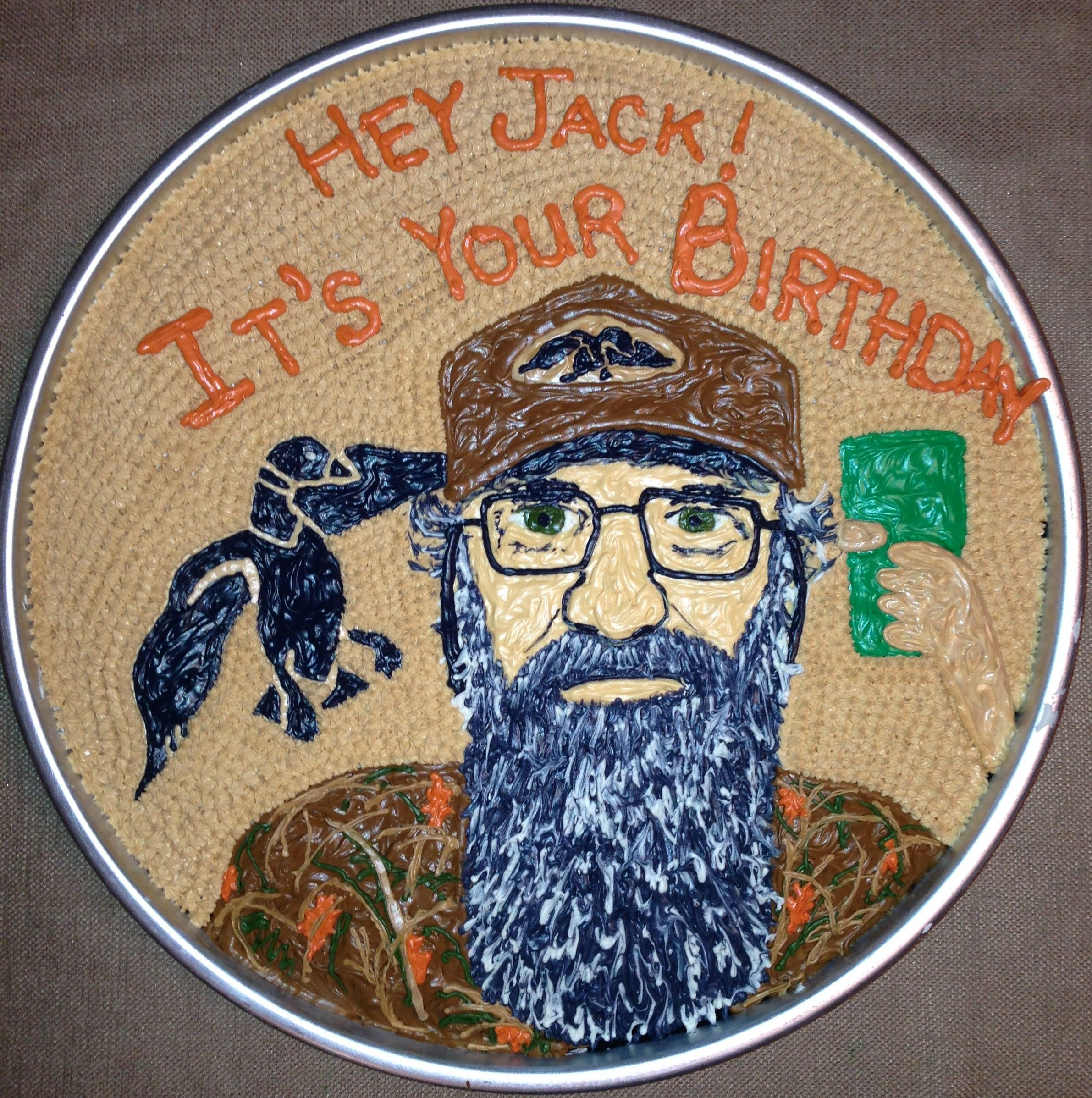 Si Robertson Duck Dynasty Birthday Cake Check out my other cakes