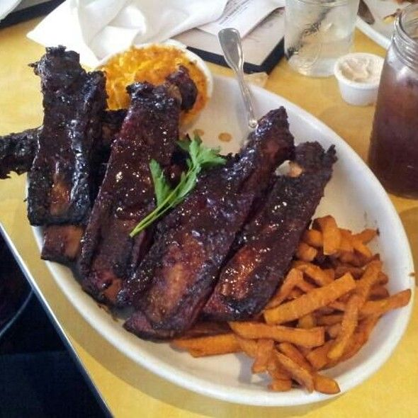 7 Piece Beef Ribs W Two Sides Lucille S Smokehouse Bbq