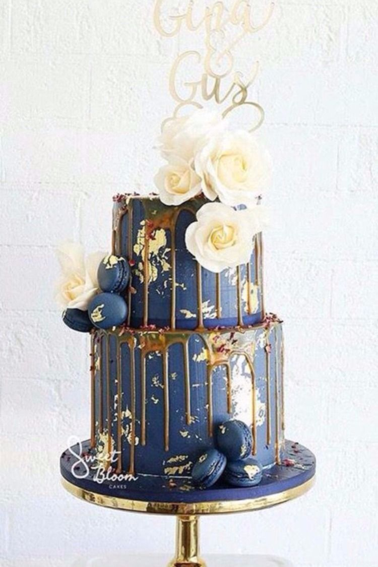2019 Wedding Cake Trends 25 Drip Wedding Cakes Wedding Ideas