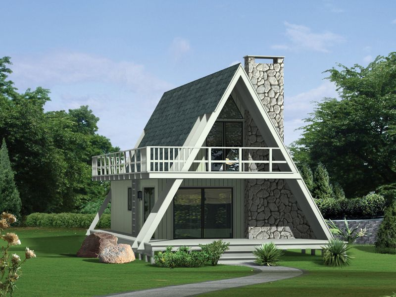 Lake House Plan Front of Home 008D-0139 from houseplansandmore.com ...