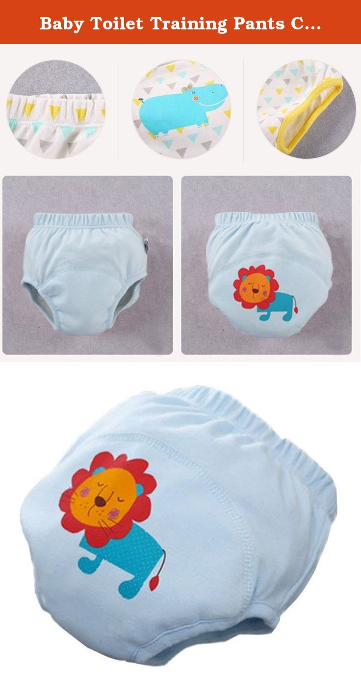 e3108312c Baby Toilet Training Pants Cartoon Nappy Underwear Cotton Cloth Diaper 1 PC.  Ships from Hong