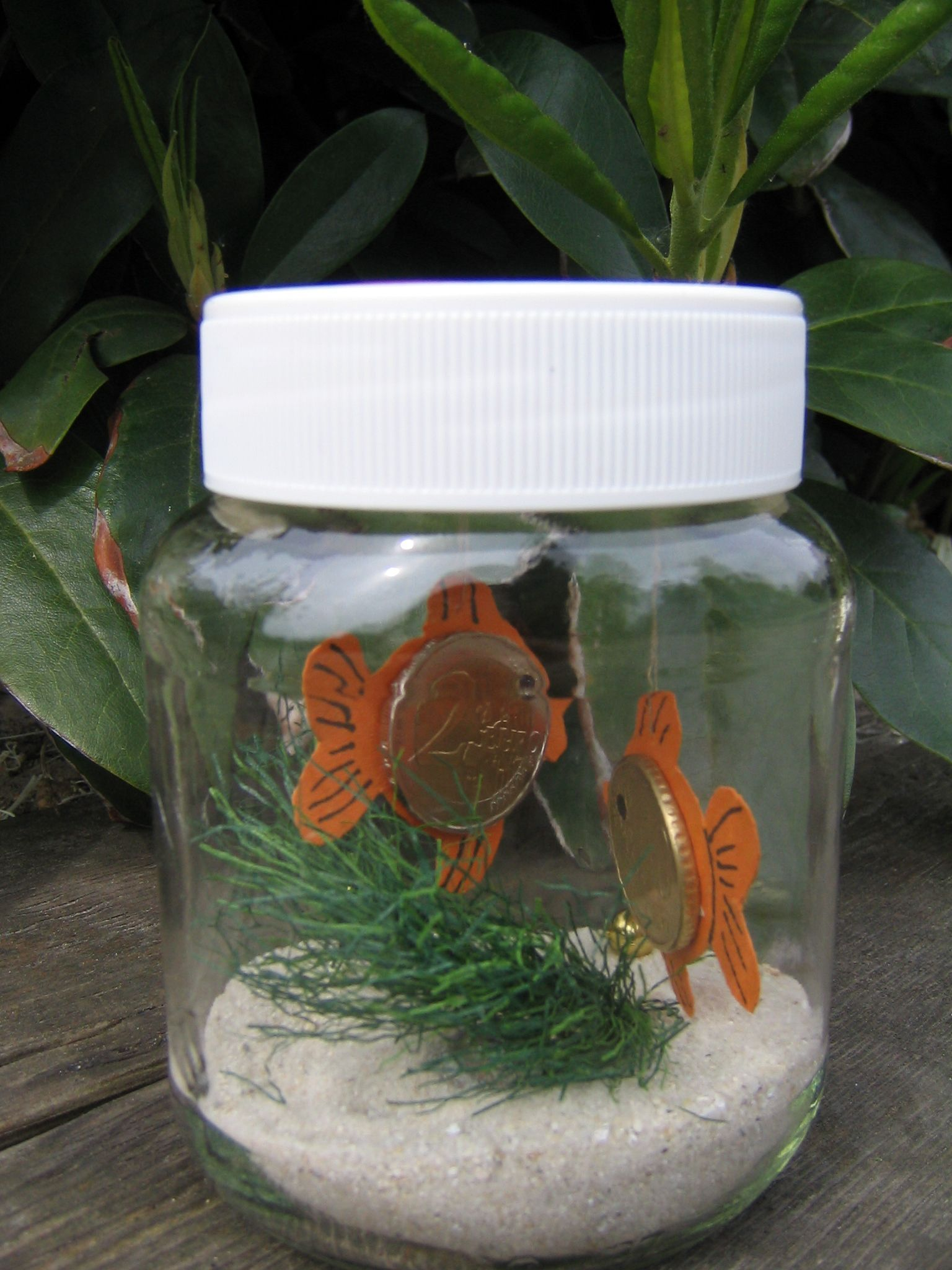 Geldfisch geldgeschenke basteln geldgeschenk ideen - Pinterest ideen ...