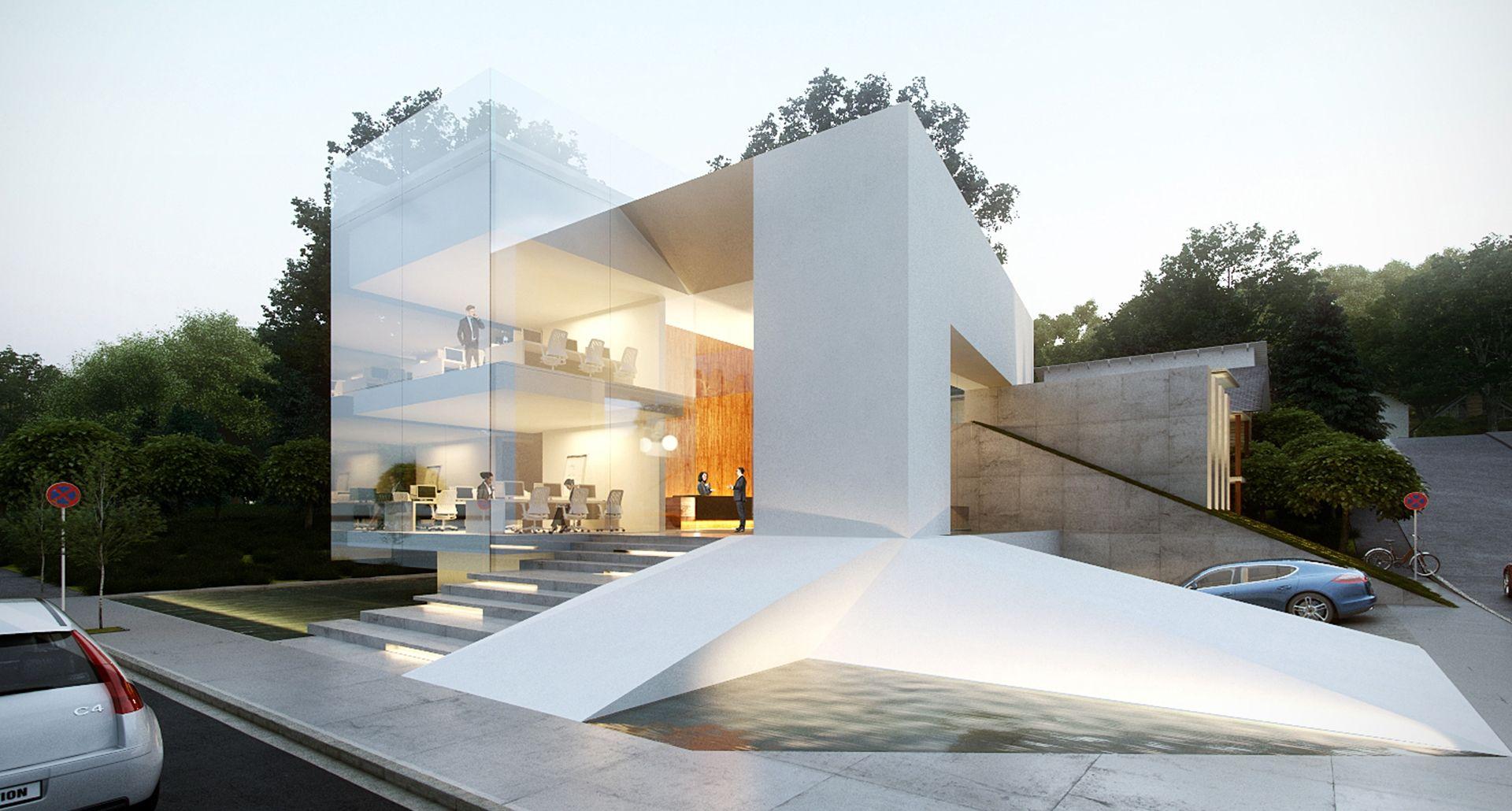 Evian gate creato arquitectos arch pinterest - Arquitectos casas modernas ...