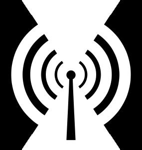 Antenna And Radio Waves By Johnpwarren A Basic Radio Broadcast Symbol Linux Mint Funk Elektro