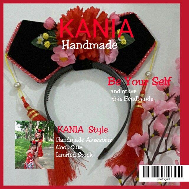 Imlek Hairband by Kania  Instagram kania_leni  BBM 7dco5777  WA 082165722785  Line kania_leni   #kania#handmade#indonesia#girl#hearpin#headband  #cute#unik#buatantangan#hairbow#hairclips#ribbon  #flowers#flowergirl#imlek