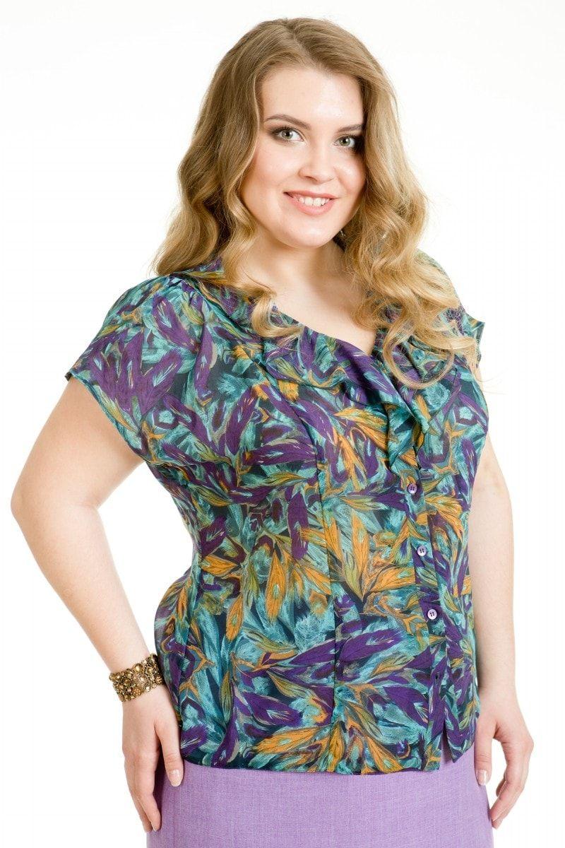 Блузки для полных женщин которые их стройнят выкройка фото 450