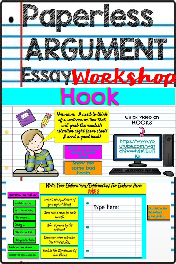 DISTANCE LEARNING Argumentative Writing Google Classroom
