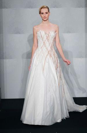 Mark Zunino Sweetheart A Line Gown In Dutchess Satin Designer Wedding Dresses Wedding Dresses Kleinfeld Wedding Dresses,Mens Dress Vests Wedding