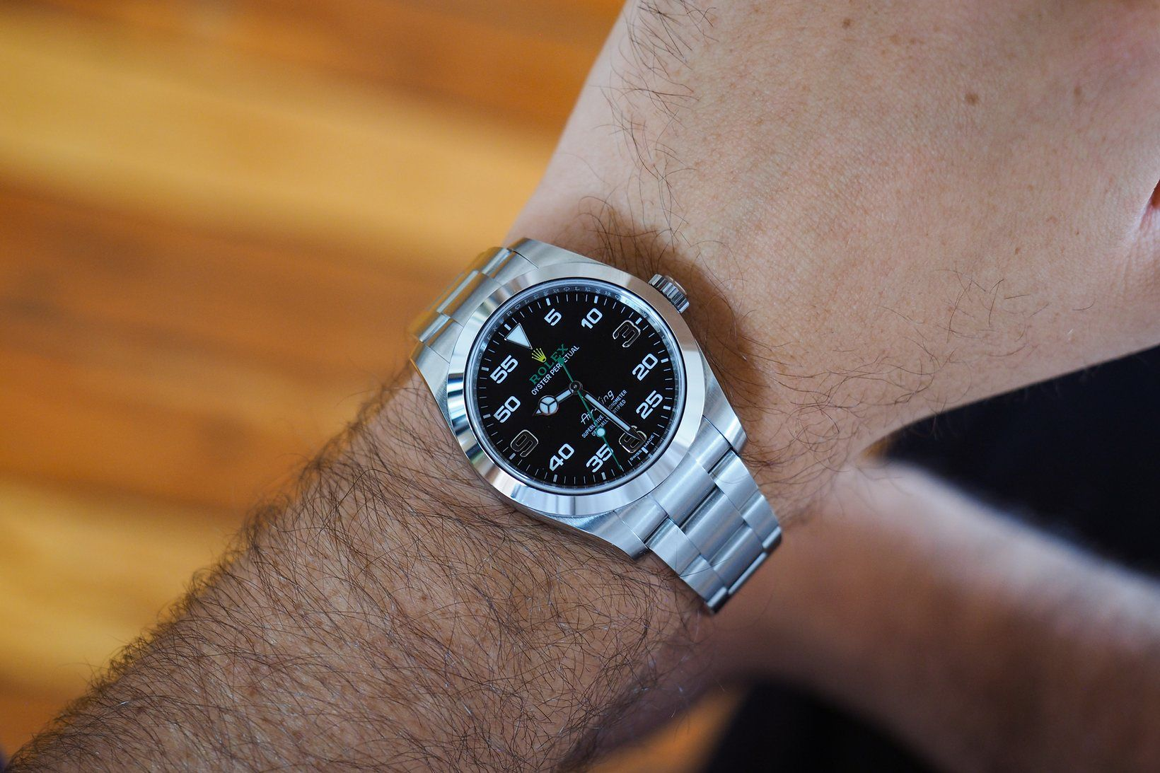 A Week On The Wrist The 2016 Rolex AirKing Reference