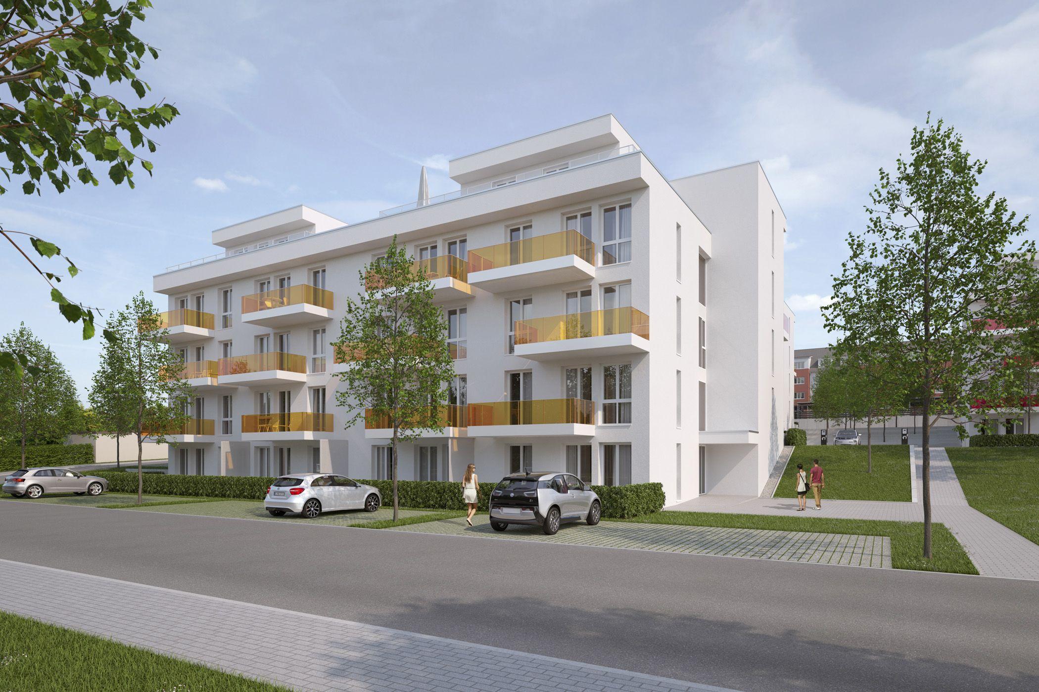 Architekturvisualisierung Stuttgart wohnquartier carlsgarten haus a bad kreuznach raumlabor3
