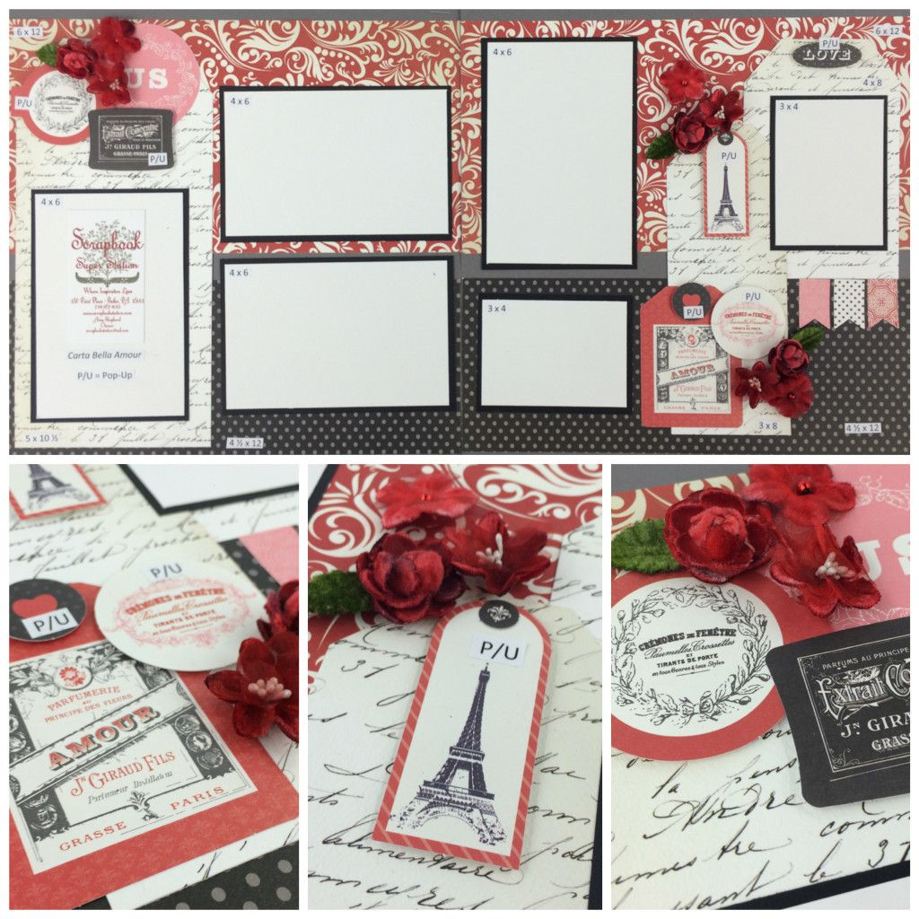 Carta Bella Amour Best site for scrapbook layouts ever!   www.scrapbookstation.com
