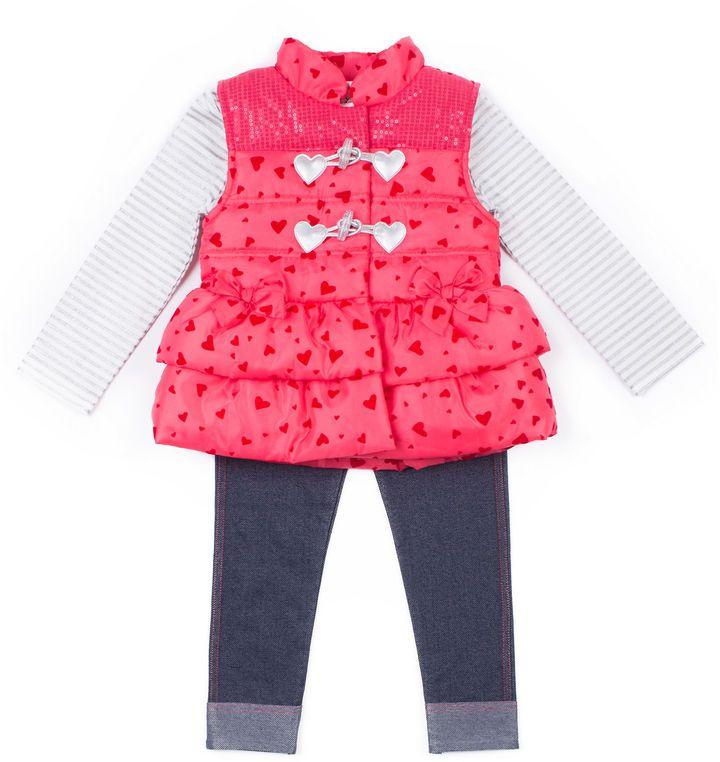 eecbbbb41539 Little Lass 3-pc. Legging Set-Preschool Girls   Products   Baby girl ...