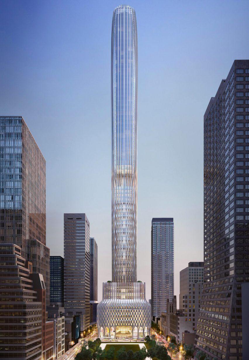 News 666 Fifth Avenue By Zaha Hadid Architects