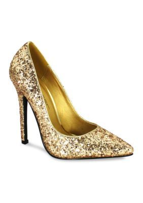 C. Label Dayna 8 Glitter Pump