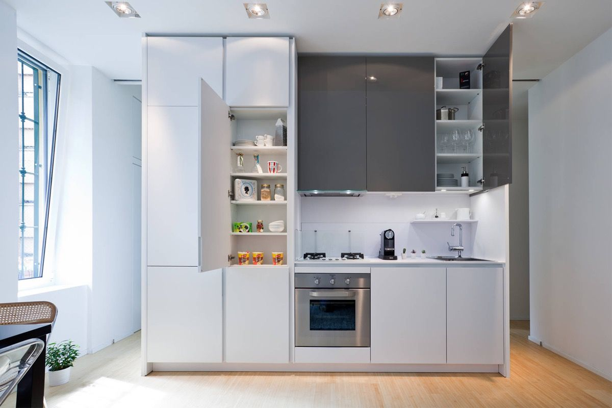50 Splendid Small Kitchens And Ideas You Can Use From Them One Wall Kitchen Kitchen Remodel Small Interior Kitchen Small