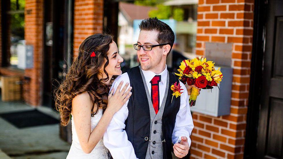 Love and Minecraft: A Very Nerdy Wedding | Etsy Weddings BlogEtsy Weddings Blog