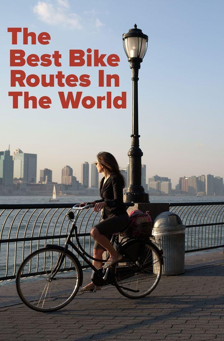The 7 Best Bike Routes In The World Bike Trails Cool Bikes Bike