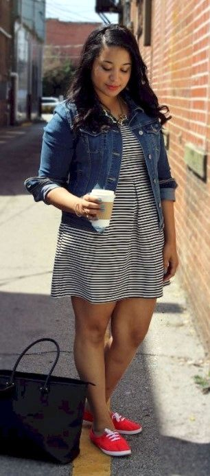 33 Easy Spring Outfits Ideas for Plus Size Women