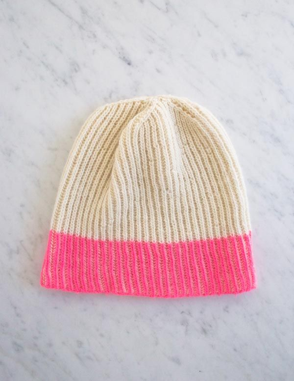 Purl Soho fisherman rib hat - love! | Proyectos que intentar ...
