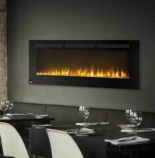 Napoleon Allure 50 Electric Fireplace Is Perfect For Restaurants