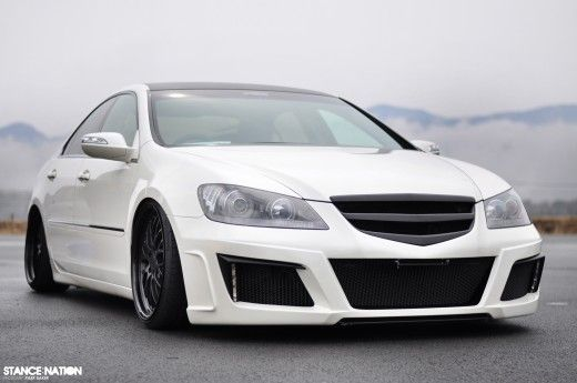 Stanced Acura RL Stanced Cars Pinterest Honda Cars And Honda - 2006 acura rl grill