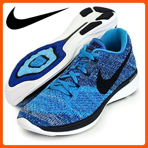 1194d09892a Nike Flyknit Lunar3 Mens Running Shoes Blue Lagoon Black 698181 402 (8) -  Mens world ( Amazon Partner-Link)