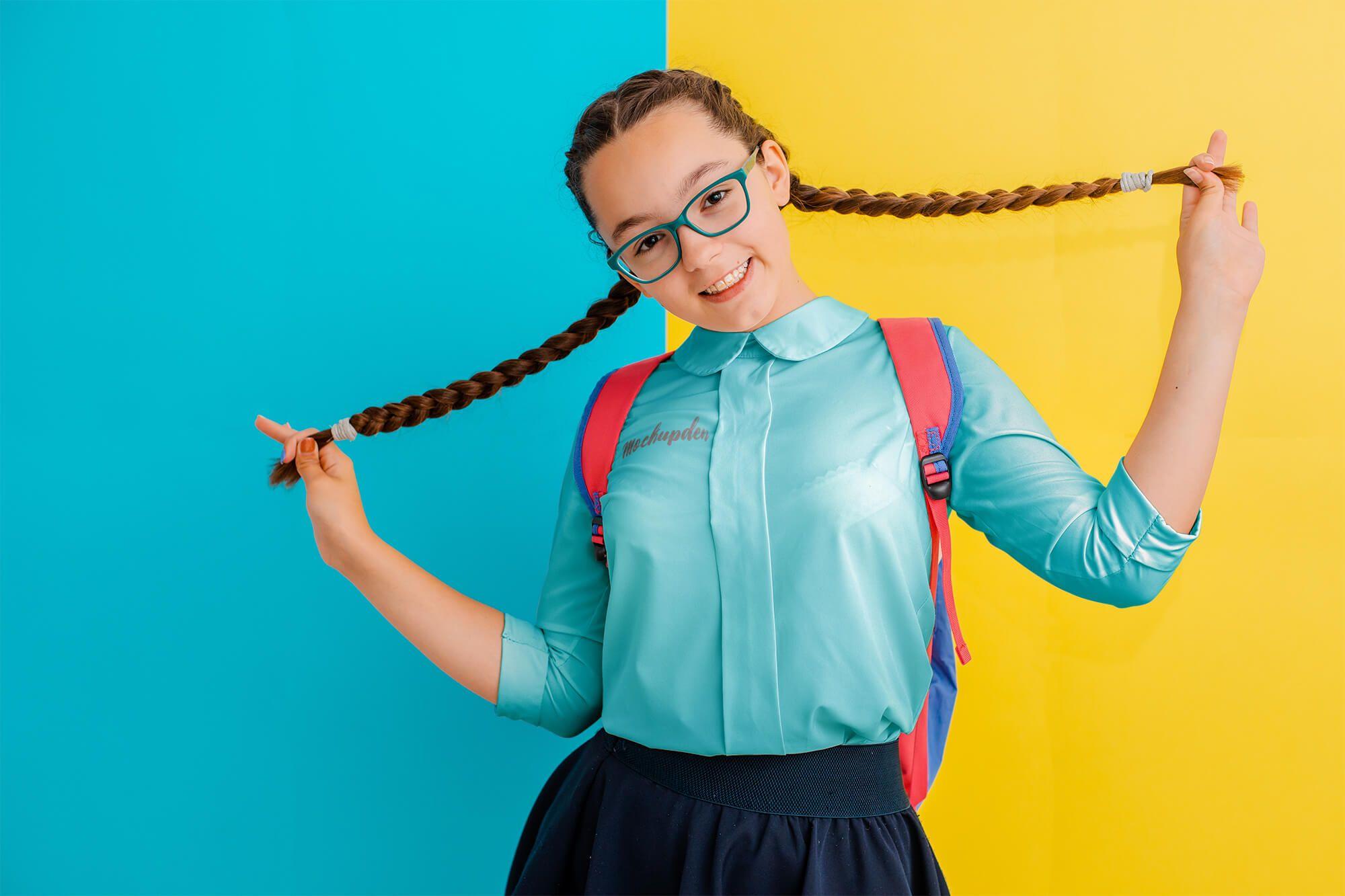 Free School Uniform Mockup Psd Template Clothing Mockup School Uniform Fashion Psd Designs