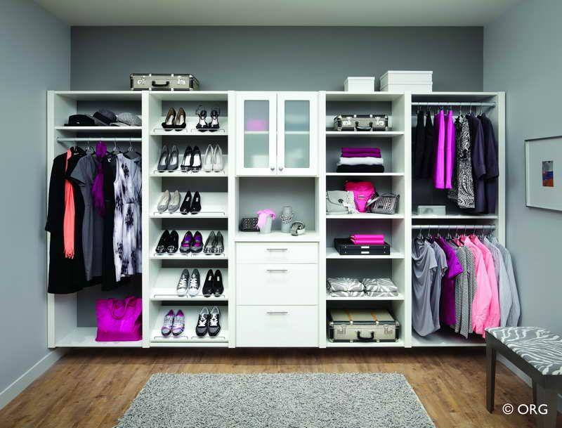 Diy Closet Organizer With Hardwood Floors With Images Ikea
